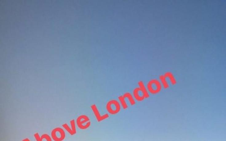 Григор Димитров в облаците над Лондон