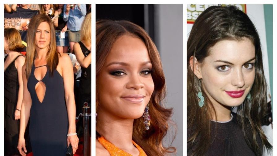 Някои от най-големите звезди на Холивуд са против сутиените
