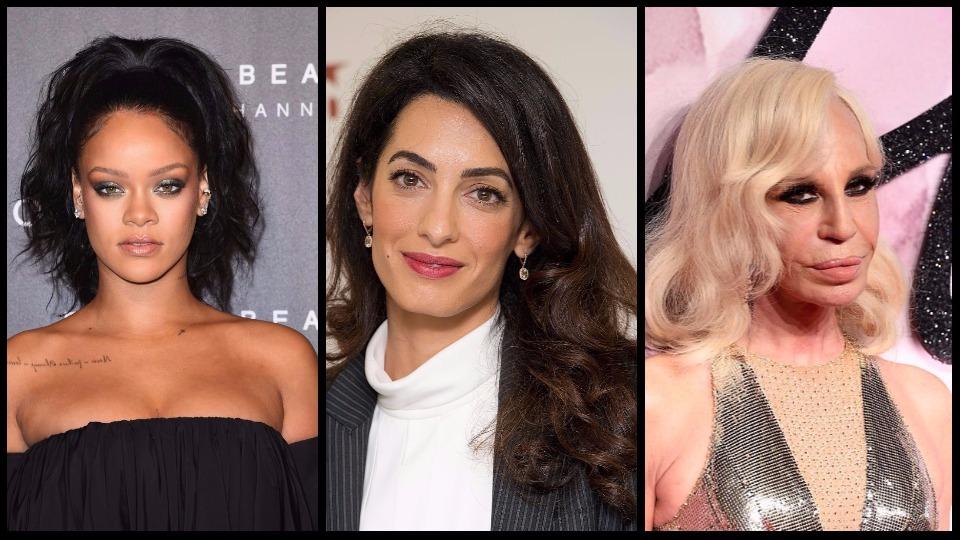 Три грации в една вечер: Какво ще събере на едно място Амал Клуни, Донатела Версаче и Риана?