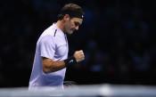 Федерер откри финалите в Лондон със скоростна победа над Сок