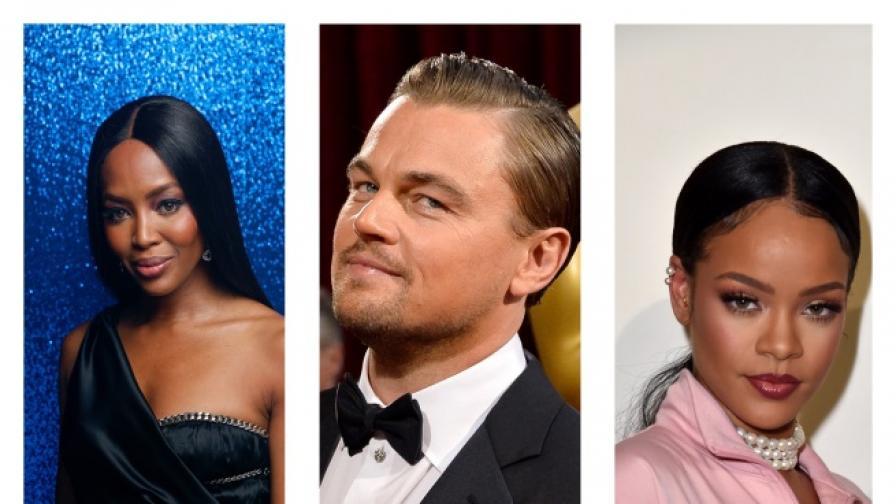 Лео е бил с някои от най-известните дами в Холивуд