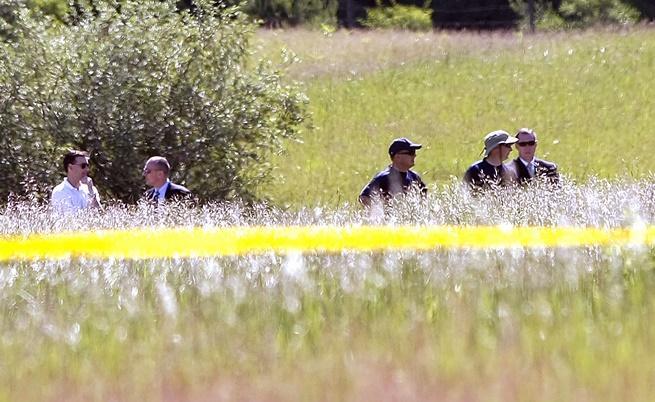 Претърсване в полета около Детройт през 2013 г.. Пореден безуспешен опит да бъде открито тялото на Джими Хофа.