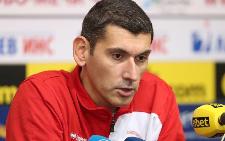 Сашо Попов: Загубихме зала