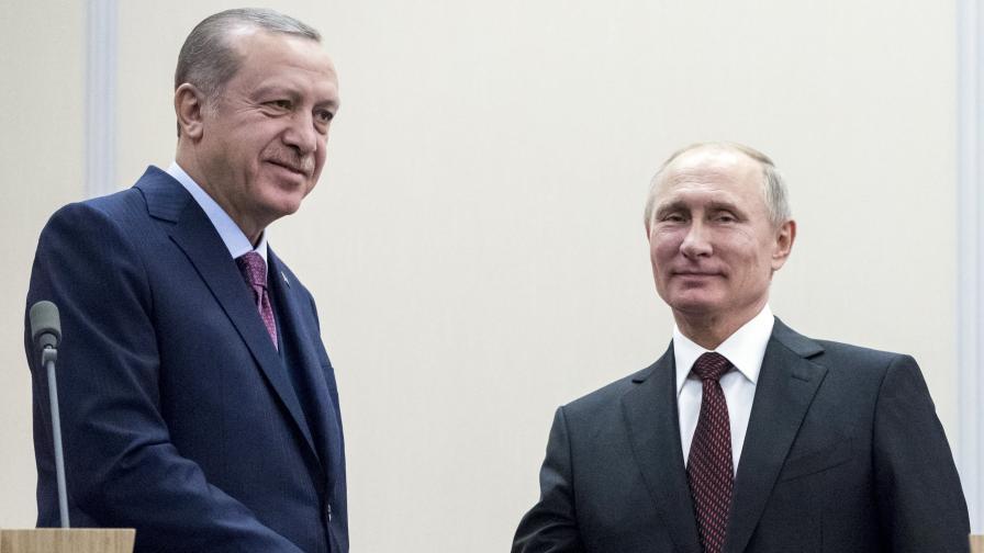 За какво се разбраха Путин и Ердоган след 4 часа