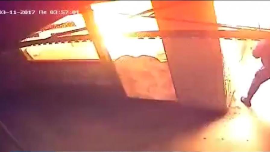 Взривиха закусвалня с човек вътре в столичен подлез