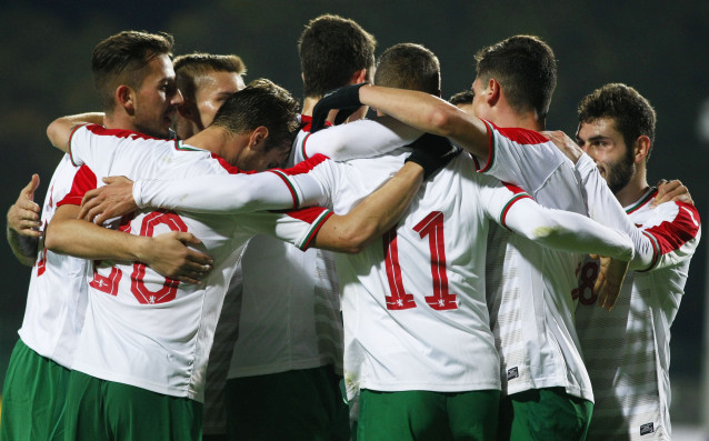 България - Черна гора, квалификация за Евро 2019<strong> източник: LAP.bg, Илиан Телкеджиев</strong>