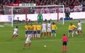 Англия - Бразилия 0:0 /репортаж/