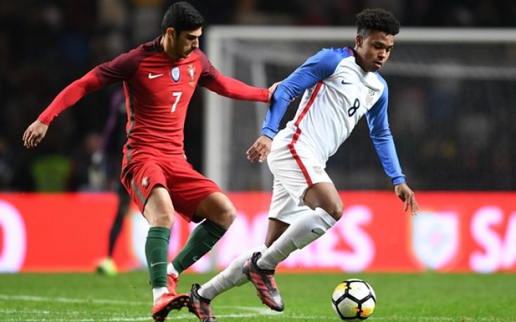 19-годишен донесе хикс на САЩ срещу Португалия