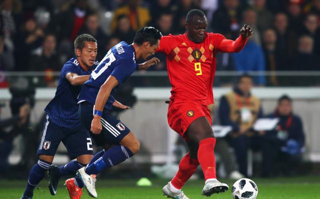 Ромелу Лукаку вкара единствения гол в мача Белгия - Япония /1:0/<strong> източник: Gulliver/Getty Images</strong>