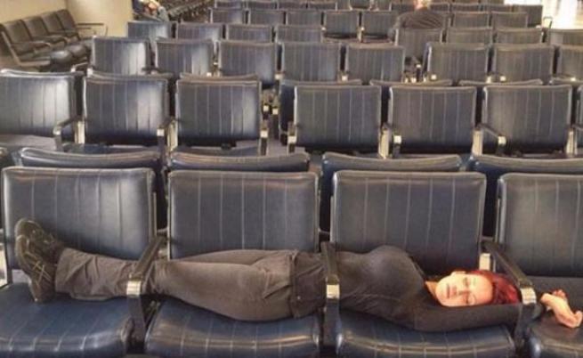 Най-смешните ситуации, уловени на летища
