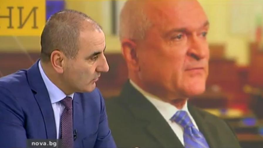 Цветанов: С този юмрук политика не се прави