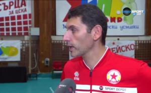 Александър Попов: Трите точки в такова дерби са ценни