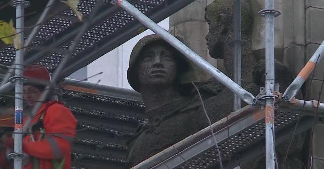 Полша започна разрушаването на паметника на благодарност към съветската армия