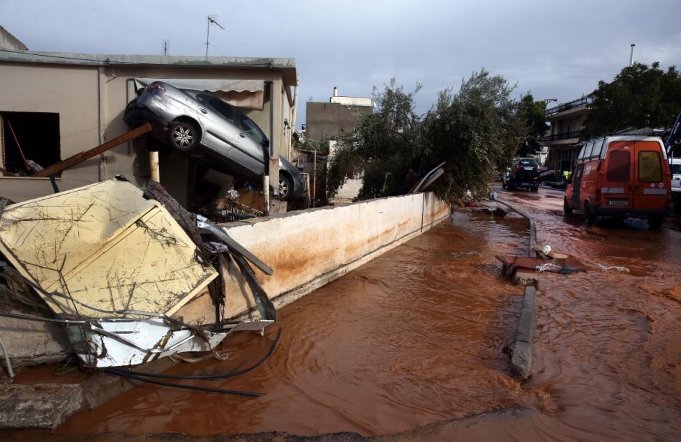 - Гърция преживя едно от най-тежките бедствия за последните 20 години