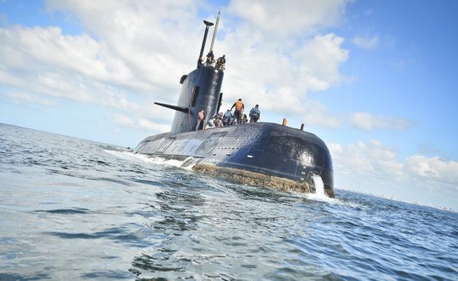 Бойна подводница изчезна край Аржентина