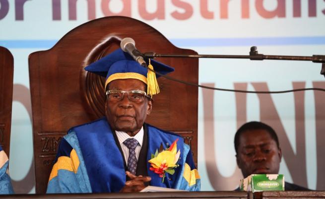 Си Ен Ен: Мугабе даде оставка срещу имунитет