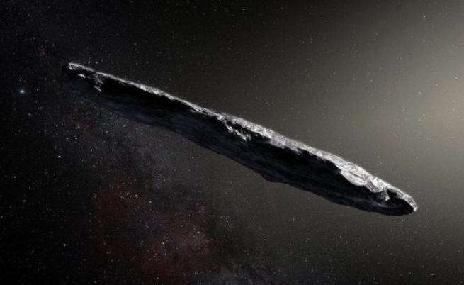 Междузвездният астероид няма извънземни обитатели