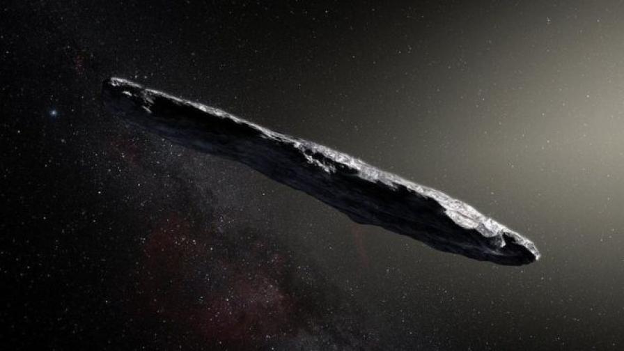 <p>Извънземен космически кораб ли е &bdquo;Оумуамуа&ldquo;</p>