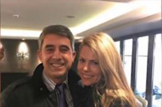 Деси Банова и Росен Плевнелиев щастливи в Атина