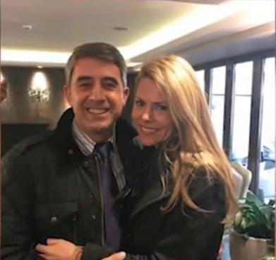 - Деси Банова и Росен Плевнелиев щастливи в Атина