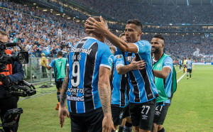 Гремио взе аванс срещу Ланус във финала на Копа Либертадорес