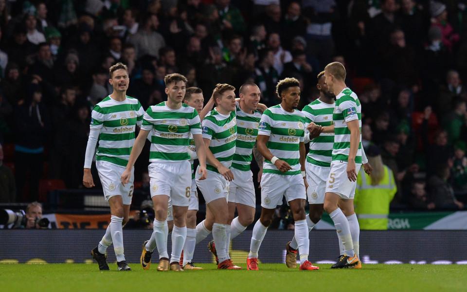 Селтик спечели купата на Лигата в Шотландия