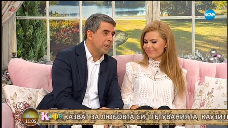 Деси Банова и Росен Плевнелиев ще си имат бебе