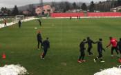 ЦСКА започна подготовка за мача с Витоша