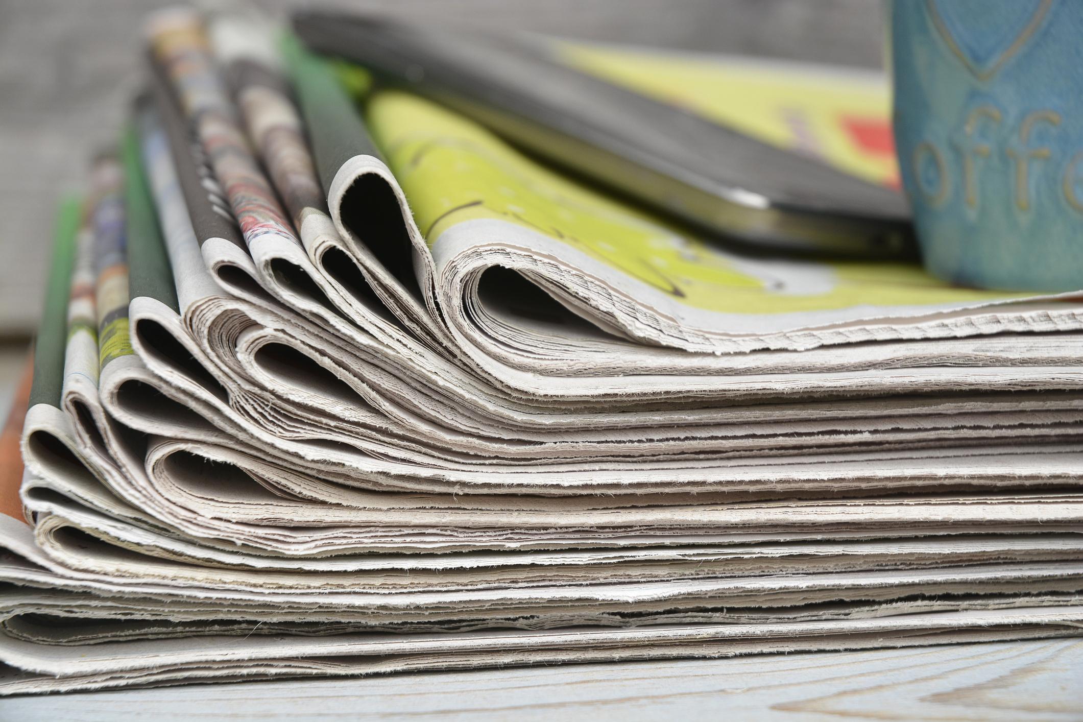 Стари вестници и списания