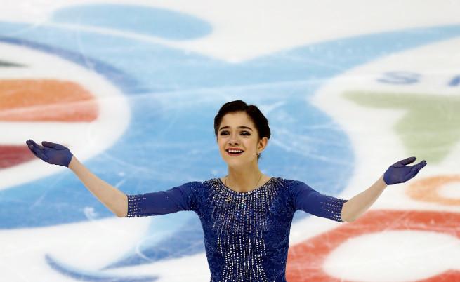 Ледената кралица, която разтапя сърца: Евгения Медведева