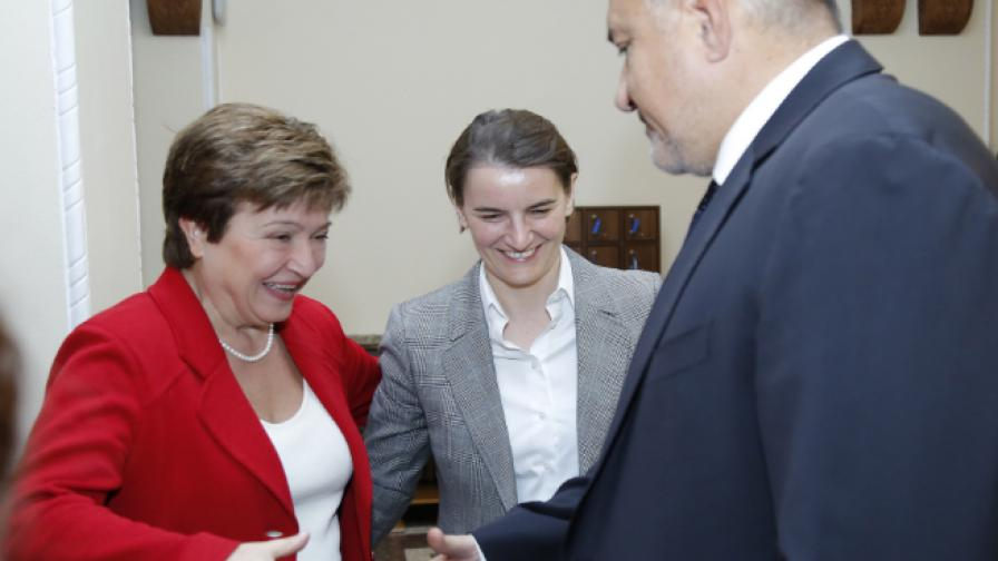 Кристалина Георгиева и Бойко Борисов