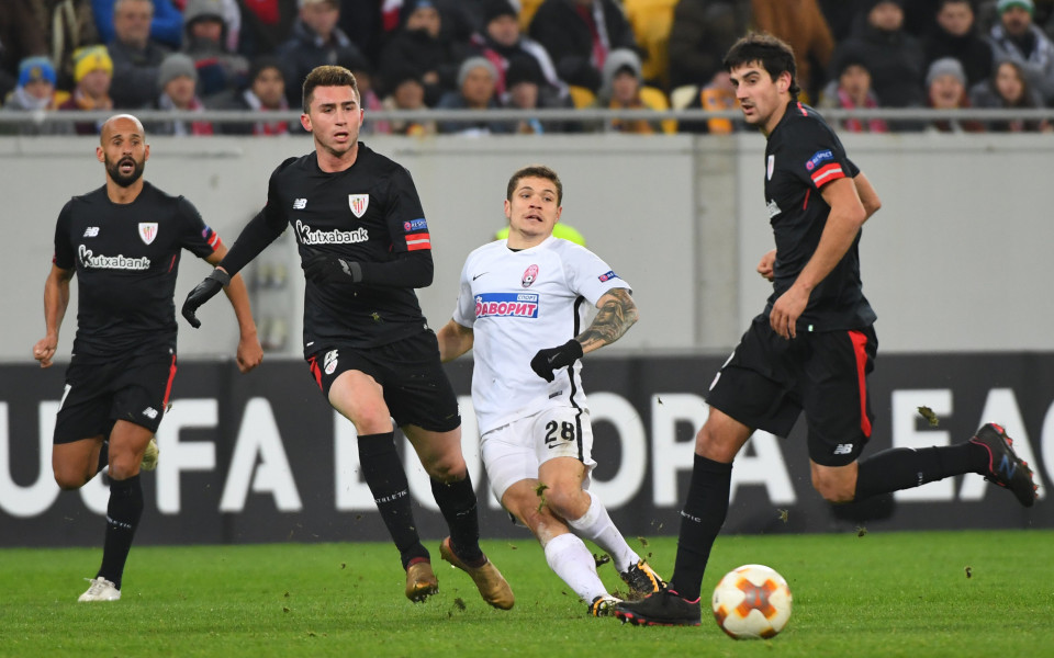 Билбао се намъкна на мястото на Йостерсунд след победа над Зоря Луганск