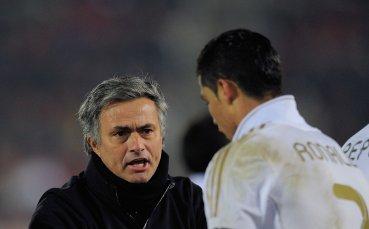 Моуриньо почти докарал Роналдо до сълзи в Реал