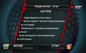Ботев Пд ще търси край на ремитата срещу Етър