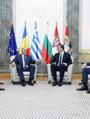 Лидерите на четирите страни обсъждат развитието на икономическото сътрудничество, укрепването на регионалната стабилност и подкрепата за интеграцията на държавите в региона.