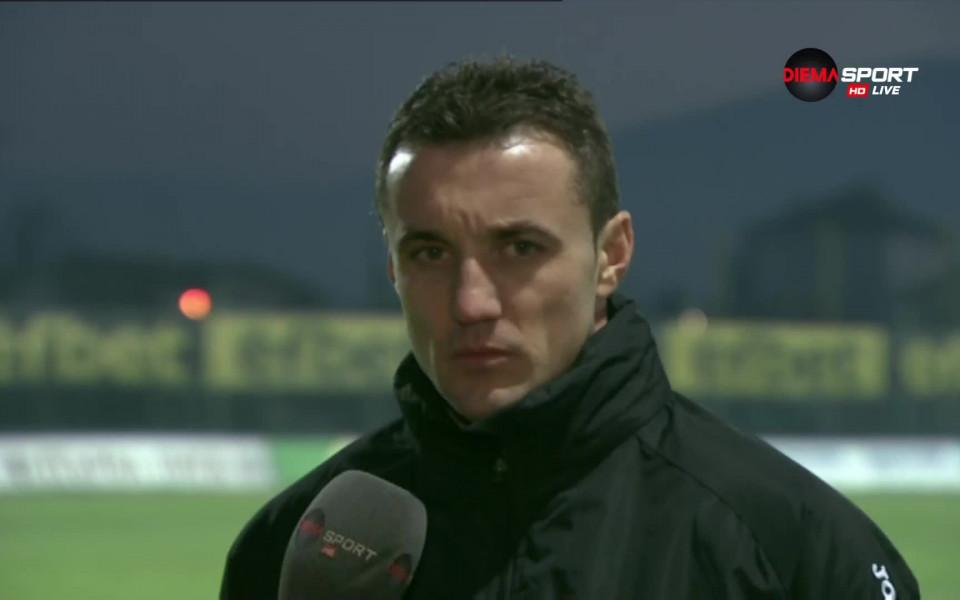 Старши треньорът на Лудогорец Станислав Генчев сподели след победата с