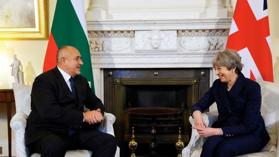 Борисов говори с Тереза Мей за българите след Брекзит