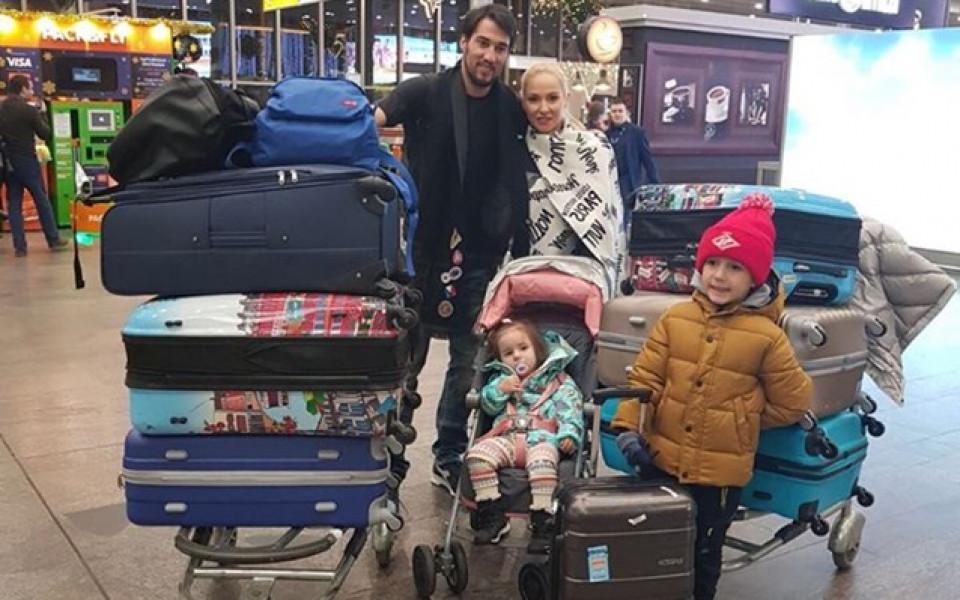 Ивелин Попов се отправи към България със семейството