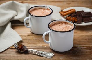 горещ шоколад сутрин