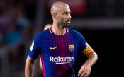 Хавиер Масчерано се сбогува с Барселона