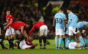 Маркос Рохо показа пораженията по главата си
