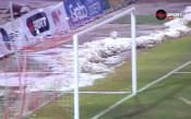 Чудо! Празна врата на ЦСКА, но гредата я спаси