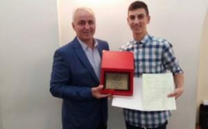 Връчиха наградата Трифон Иванов  за най-заслужил млад футболист