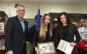 """Наградиха най-добрите от Спортното училище """"Ген. Владимир Стойчев"""""""