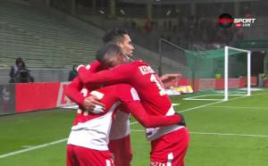 Сент Етиен - Монако 0:2 /първо полувреме/