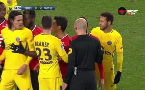 Меле предшества гола на Рен срещу ПСЖ