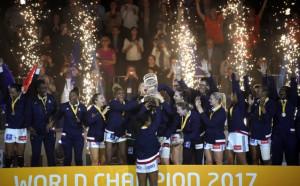 Франция триумфира с титлата на световното по хандбал