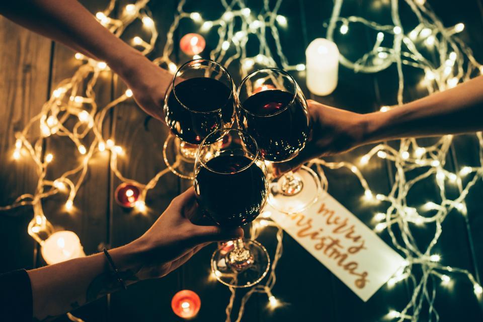 коледа трапеза празник парти