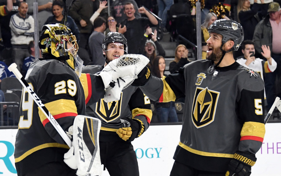 Лас Вегас с победа и нов рекорд в НХЛ