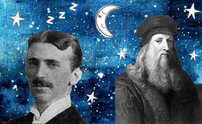 Как да спим като Леонардо да Винчи и Никола Тесла